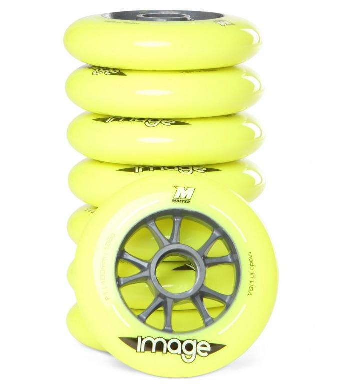 Matter Wheels F1 Imagine 100er yellow 100mm/86A