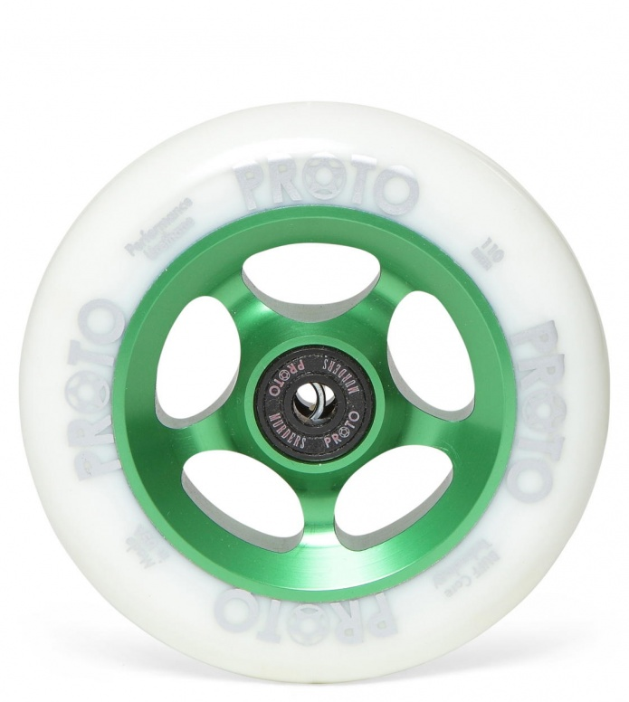 Proto Wheel Slider green/white 110mm