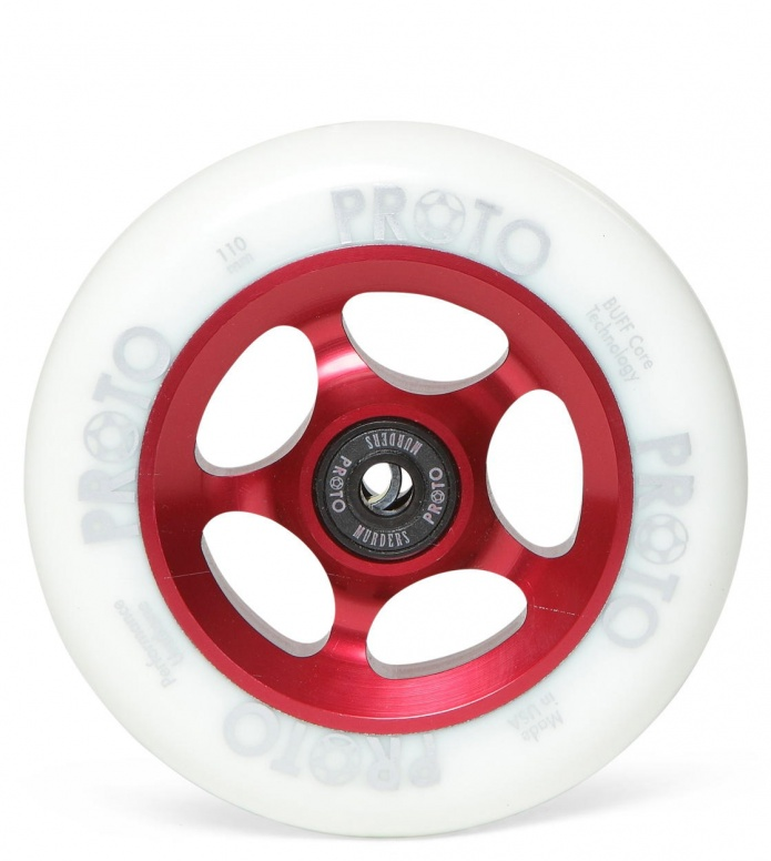 Proto Wheel Slider red/white 110mm