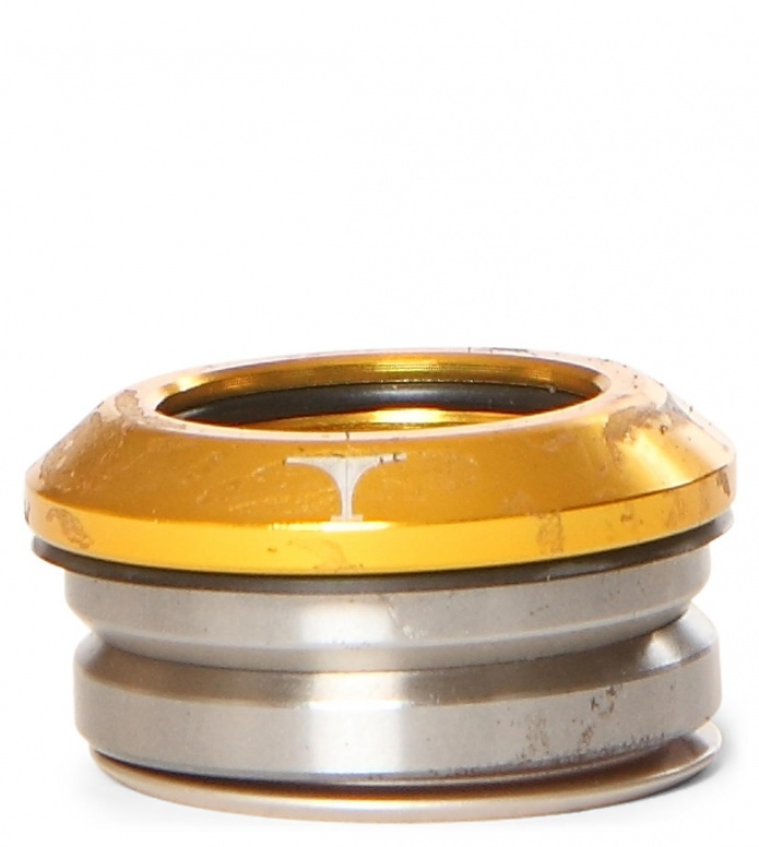 Titen-Headset Integrated gold one size