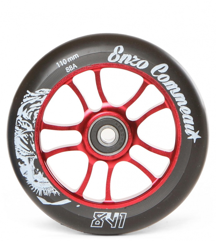 841 Wheel Enzo Signature red/back 110mm