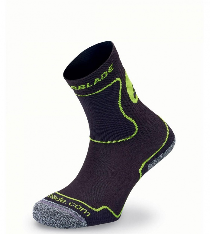 Rollerblade Kids Socks Performance black/green 31-34