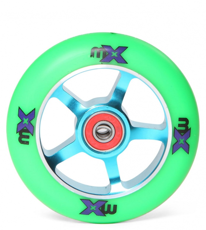 Micro Wheel MX 100er blue/green