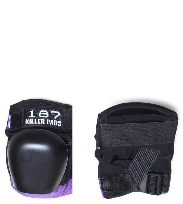 187 Killer Protection Derby Knee Pads Pro black/purple XS