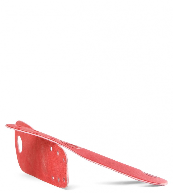 Riedell Accessories Leather Toe red