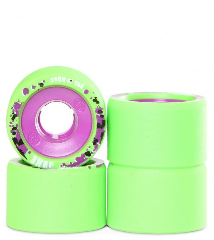 Atom Wheels Juke green/purple 59mm/95A