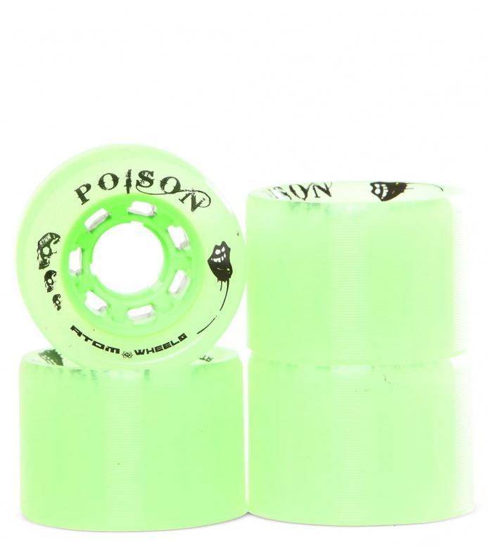 Atom Wheels Poison 62er green natural