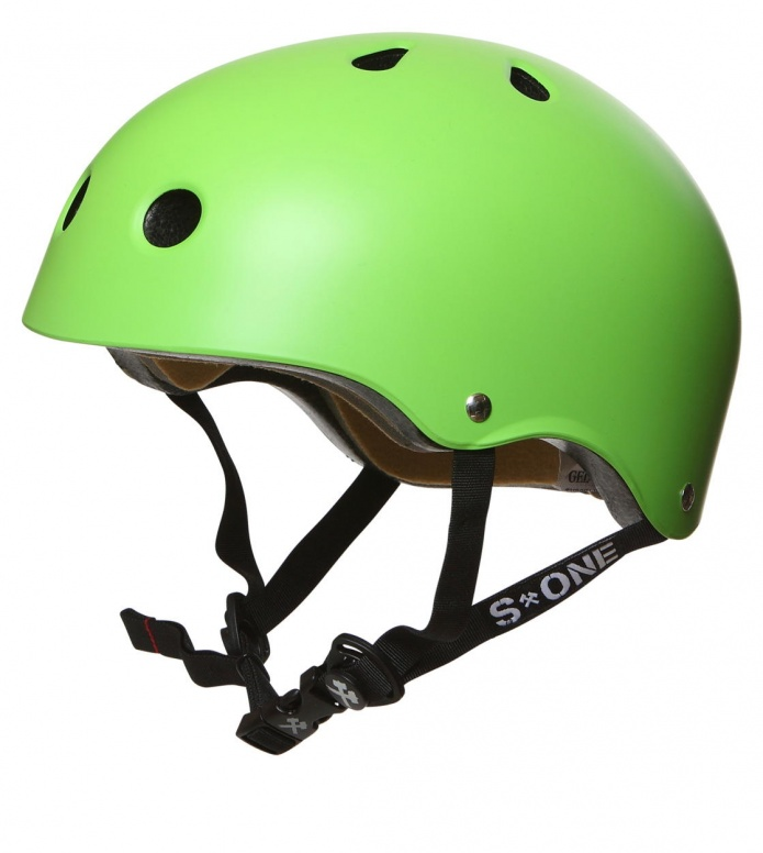 S1 S1 Helmet Lifer green matte