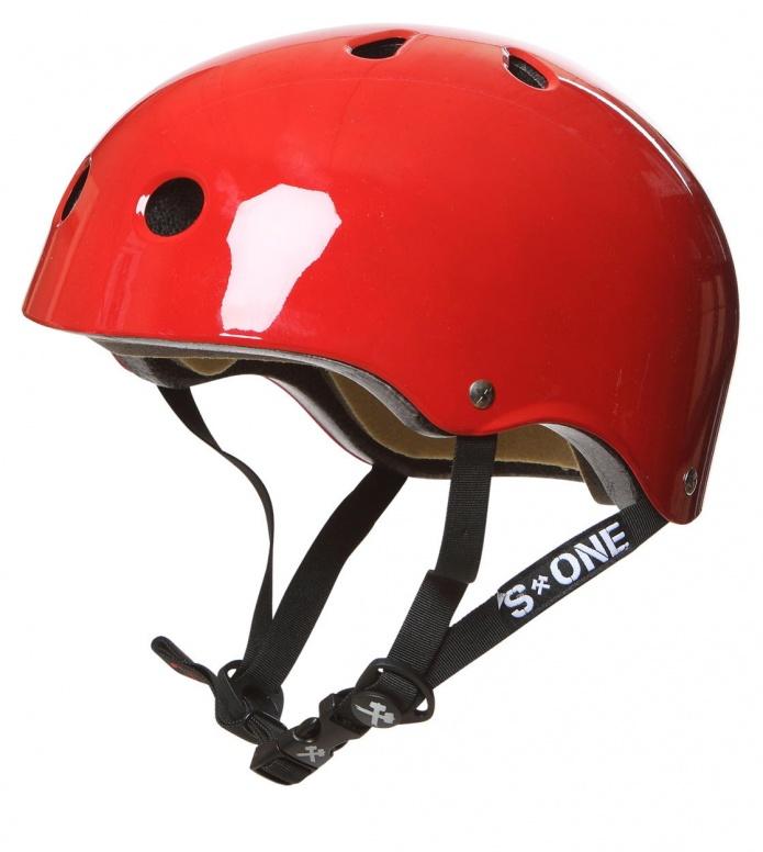 S1 S1 Helmet Lifer red gloss