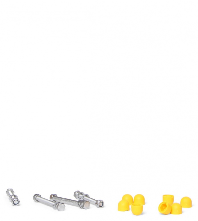 Skike Axle Screw Set Base yellow one size