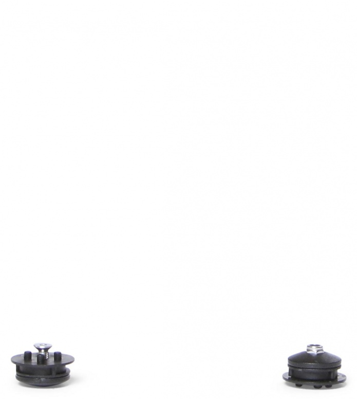 Skike Ankel Joint Bearings Set black one size