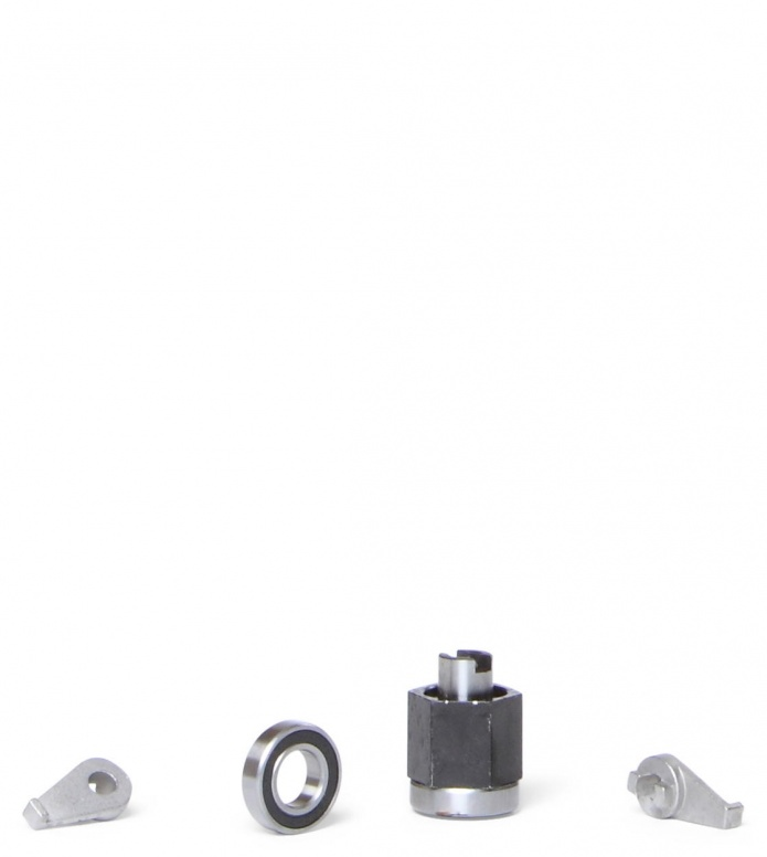 Skike Bearings Reverse Lock black one size