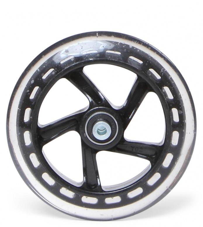Skike Wheel 125er Complete Speed black 125mm