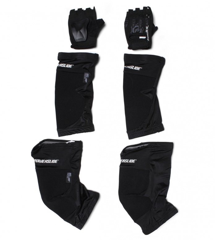 Powerslide Protection Race Tri-Pack II black S
