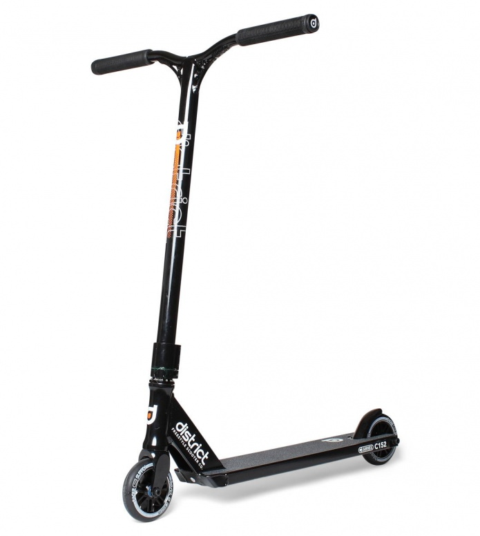 District District Scooter C-Series C152 black/orange