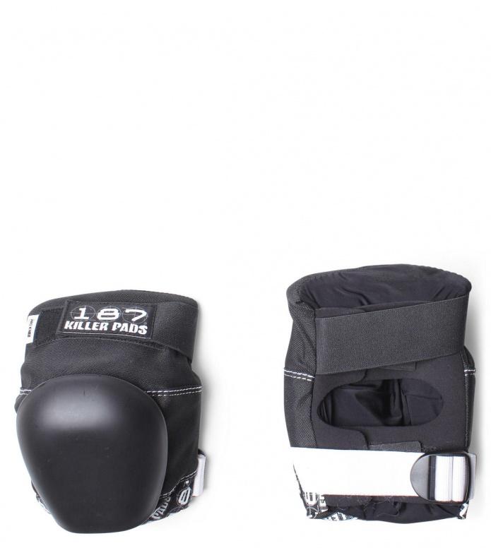 187 Killer Protection Derby Knee Pads Pro black/white S