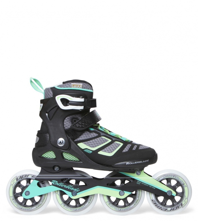 Rollerblade Rollerblade W Macroblade 100 black/green