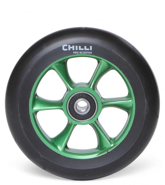Chilli Wheel Turbo Core 110er green/black