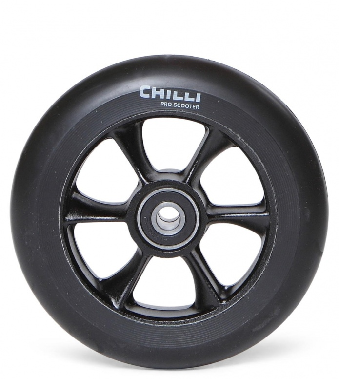 Chilli Wheel Turbo Core black/black 110mm