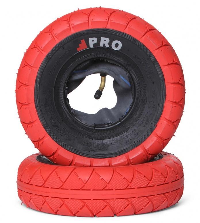 Rocker Tyres Street Pro Pair red/black walls