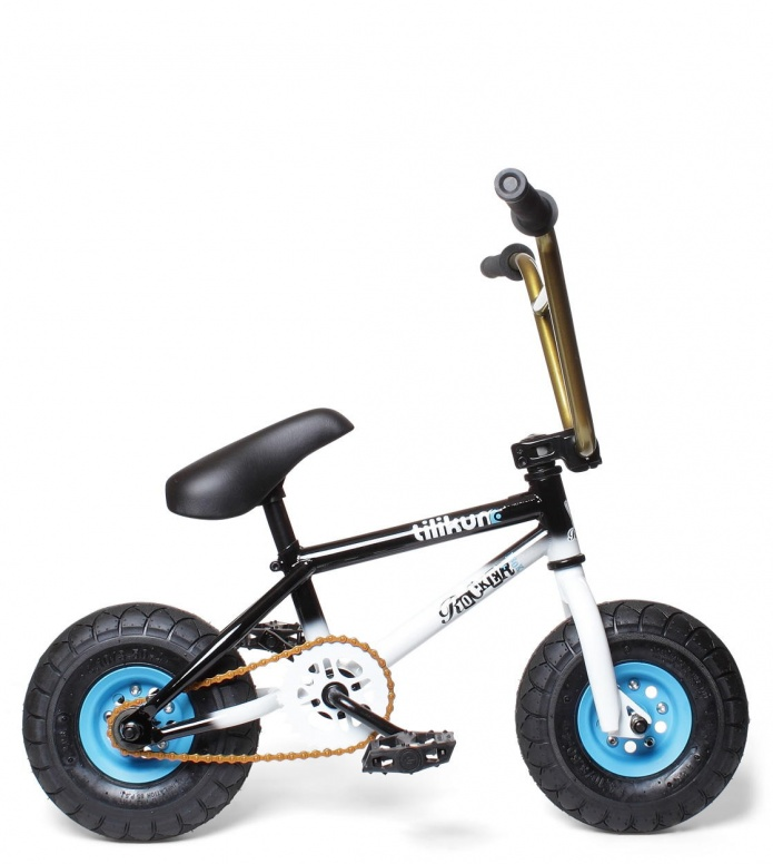 Rocker Rocker Mini BMX Irok+ Tilikum black/white/blue