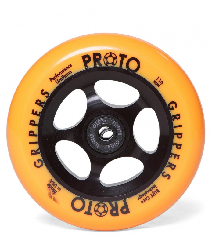 Proto Wheel Gripper 110er black/orange