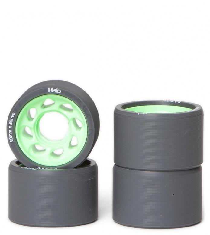 Radar Wheels Halo black/green 59mm/97A