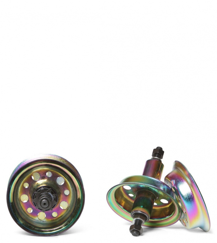 Rocker Wheelset Pro Pair rainbow oil slick one size