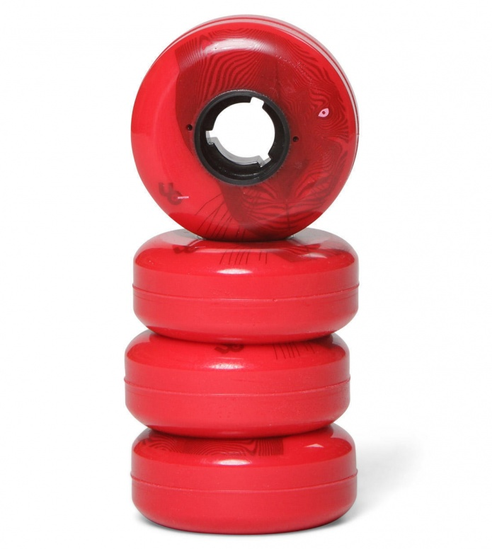 Undercover Wheels Core Line Panther red 58mm/90A
