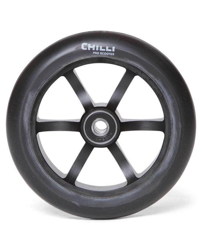 Chilli Wheel 6-Spoked 120er black