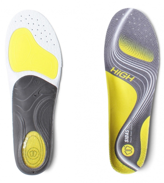 Sidas Insole 3-Feet Activ High grey S (37-38)