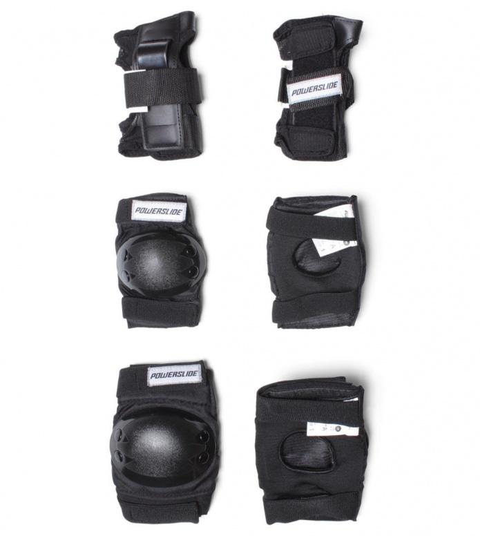Powerslide Protection Kids Tri-Pack black XS