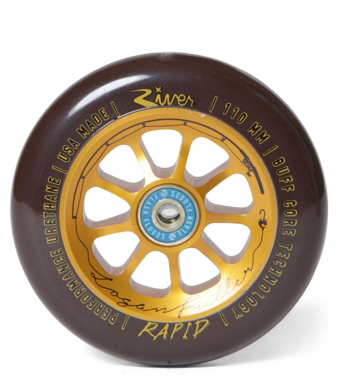 River Wheel Rapids The Angler Fuller 110er black/gold