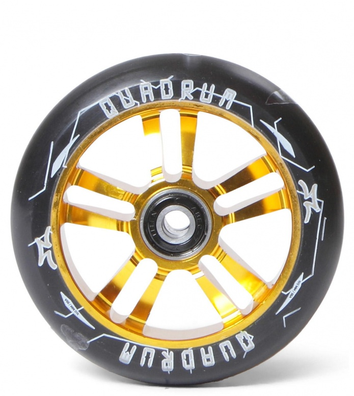 AO Wheel Quadrum 10-Star 100er gold 100mm