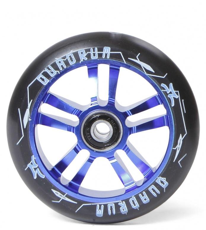 AO Wheel Quadrum 10-Star 100er blue 100mm
