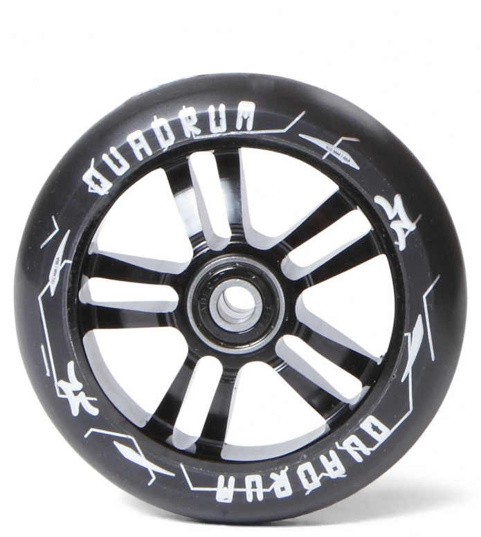 AO Wheel Quadrum 10-Star 100erBlack 100mm