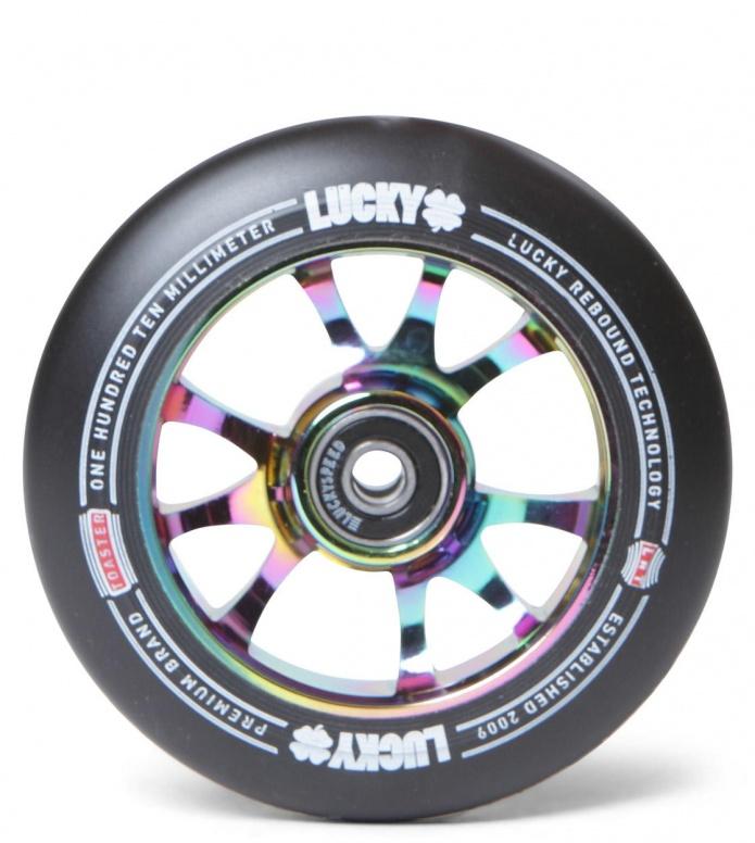 Lucky Wheel Toaster rainbow/black 100mm