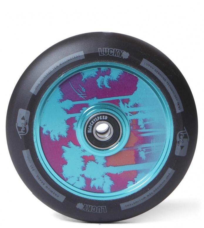 Lucky Wheel Tanner Fox 110er blue/black 110mm
