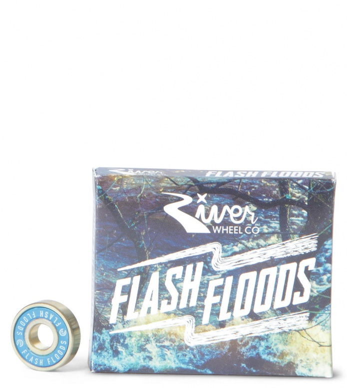 River Bearings Flash Floods Abec 7 blue
