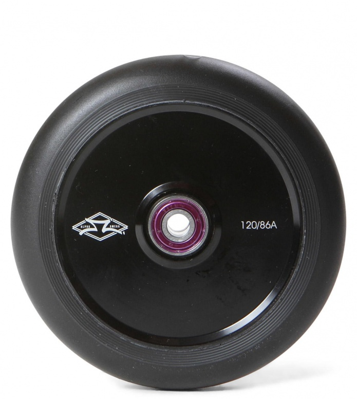 AO Wheel Helium 120er black 120mm