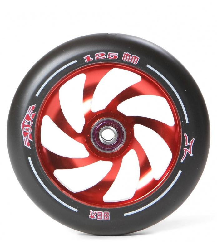 AO Wheel Spiral 125er red 125mm