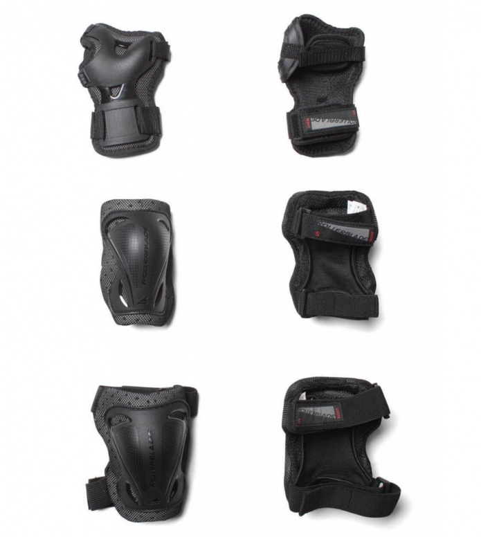 Rollerblade Protection Bladegear 3 Pack black