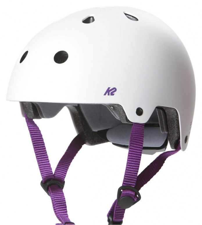 K2 K2 Helmet Jr Varsity white/purple