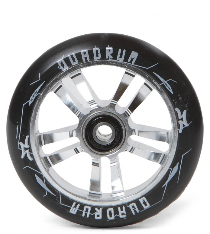 AO Wheel Quadrum 10-Star 100er silver 100mm