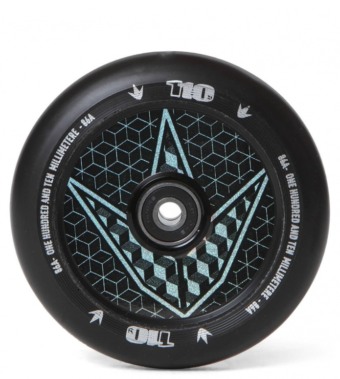 Blunt Wheel Hologram Geo 110er black 110mm
