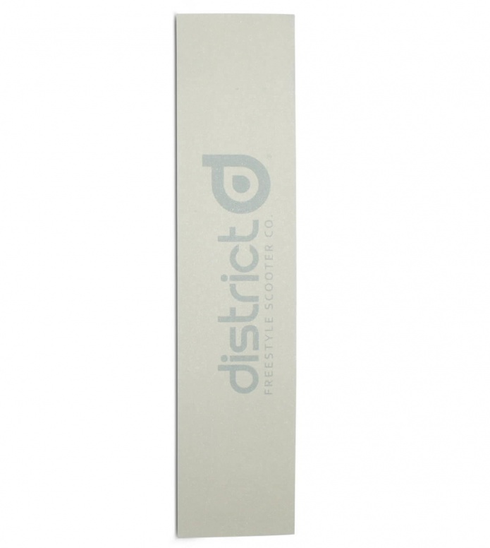 District Griptape Name white 550 x 120mm