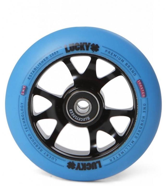 Lucky Wheel Toaster 100er black/blue