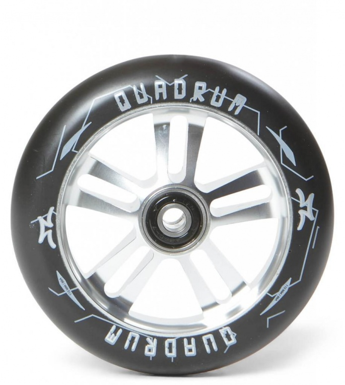 AO Wheel Quadrum 10-Star 110er silver/black 110mm