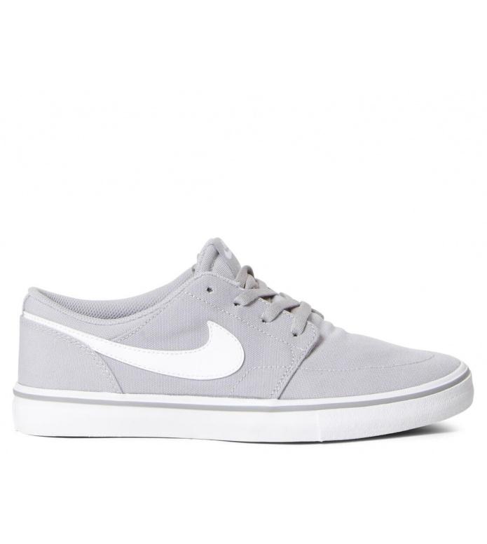 Nike SB Nike SB Portmore II Solar CNVS grey wolf grey/white-black