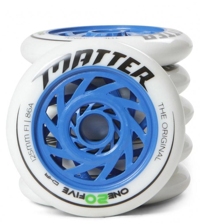 Matter Wheels F1 one20five 125er blue/white 125mm/86A